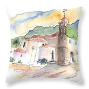 San Juan De La Rambla 05 Throw Pillow