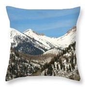 San Juan Mountains No. 3 Throw Pillow