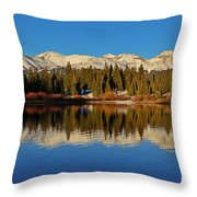 San Juan Reflections Throw Pillow