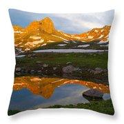 San Juan Sunrise - Colorado  Throw Pillow