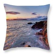 San Juans Serenity Throw Pillow