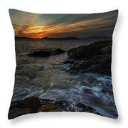 San Juans Sunset Mood Throw Pillow