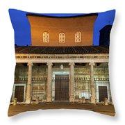 San Lorenzo Fuori Le Mura Throw Pillow