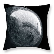 San Marco Orb Throw Pillow by Dave Bowman