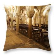 San Michele Chapel Throw Pillow