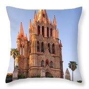 San Miguel De Allende, Mexico Throw Pillow