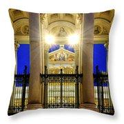 San Paolo Fuori Le Mura Throw Pillow