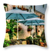 San Pellegrino Throw Pillow