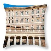 San Peter - Rome - Italy Throw Pillow