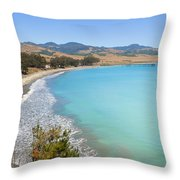 San Simeon Bay Throw Pillow