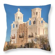 San Xavier Del Bac Mission II Throw Pillow