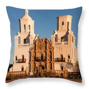 San Xavier Del Bac Mission IIi Throw Pillow