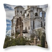 San Xavier Del Bac Throw Pillow