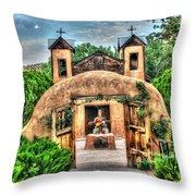 Santuario De Chimayo Throw Pillow
