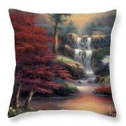 Sanctuary Throw Pillow by Chuck Pinson