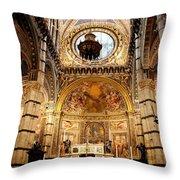 Sanctuary Duomo Siena Throw Pillow