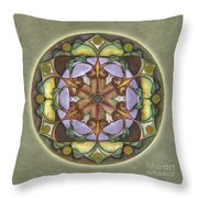 Sanctuary Mandala Throw Pillow