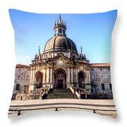 Sanctuary Of Loyola Throw Pillow