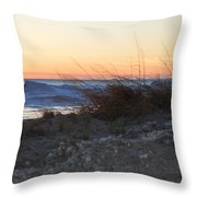 Sand And Ice Throw Pillow