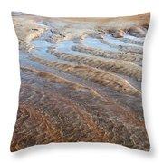 Sand Art No. 2 Throw Pillow
