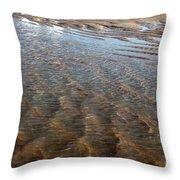 Sand Art No. 4 Throw Pillow