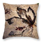 Sand Art Throw Pillow