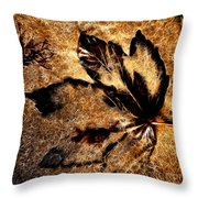 Sand Art With Pizzazz  Throw Pillow