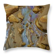 Sand Creation Throw Pillow