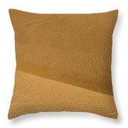 Sand Curves Throw Pillow