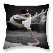 Sand Dance Throw Pillow