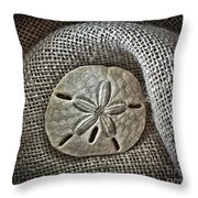 Sand Dollar 1395 Throw Pillow