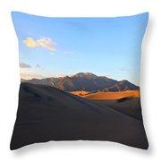 Sand Dune Sunset 2 Throw Pillow