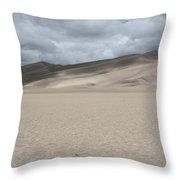 Sand Dunes Park Throw Pillow