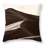 Sand Forms Great Sand Dunes Colorado Throw Pillow
