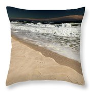 Sand Ledge Throw Pillow