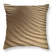 Sand Pattern Abstract - 3 Throw Pillow