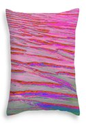Sand Patters Two Throw Pillow
