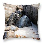 Sand Pyramids Throw Pillow