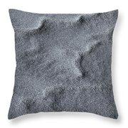 Sand Swirls Throw Pillow