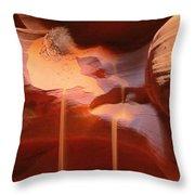 Sand Waterfalls Throw Pillow