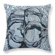 Sandals - Doodle  Throw Pillow