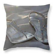 Sandals 4 Throw Pillow