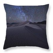 Sandbox Under The Stars Throw Pillow