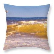 Sandbridge Pier Throw Pillow