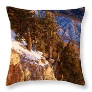 Sandia Peak Summit Albuquerque New Mexico Throw Pillow