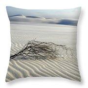 Sands Of Time Brazil Throw Pillow