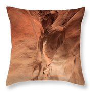 Sandstone Abyss Throw Pillow by Adam Jewell