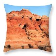 Sandstone Amphitheater Throw Pillow