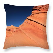 Sandstone Bands Throw Pillow