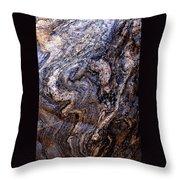 Sandstone Boulder Detail Throw Pillow